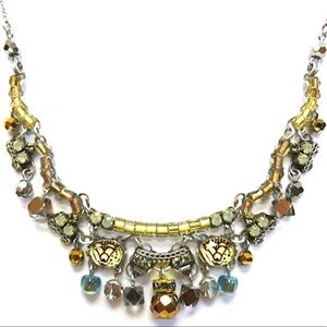 Ayala Bar Golden Fantasy Stunning Necklace, NWT